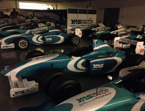 Driving A Formula 3000 At Yas Marina Circuit In Abu Dhabi