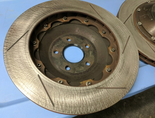 Using Flex Hone to Resurface and Turn Rotors