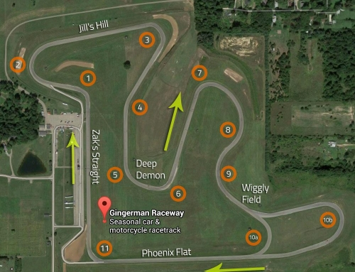 AiM Solo DL Data Analysis – GingerMan Raceway @ GridLife Midwest 2018 BRZ FRS